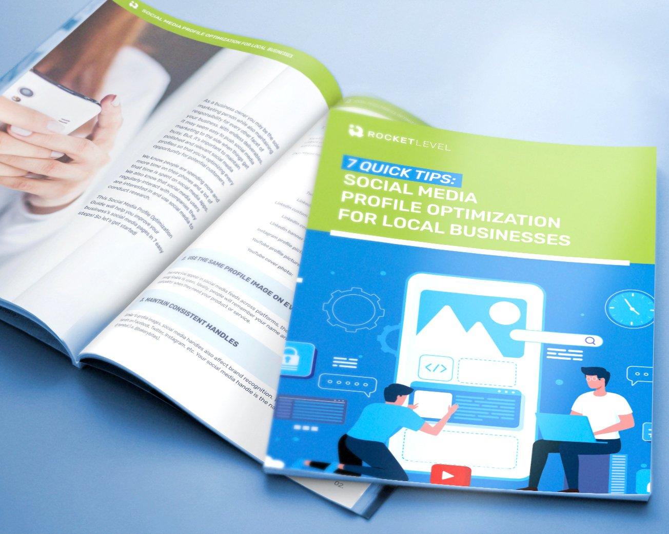 7 Quick Tips_ Social Media Profile Optimization for Local BusinessesLanding Header
